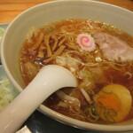 133791656 - ワンタンメン 麺少なめで ネギダブル