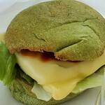 スタンド ヒビキ - 短角牛のヒビキバーガー トマトソース&チーズ