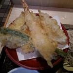 いわもとQ - 天ぷらセット
