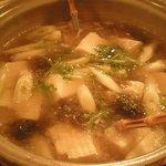 炉端焼 ダン炉 - 湯豆腐