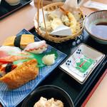 味ふうせん - 天ぷらと、お寿司
