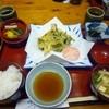 二料山荘 - 料理写真:二料季節の山菜 天ぷら定食