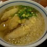 広川サービスエリア(下り線)めん処 広川 - ごぼう天蕎麦