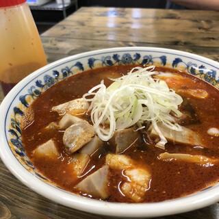 森清 - 料理写真:麻辣麺 追麻辣油付き