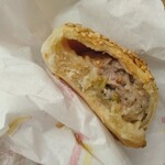 東京豆漿生活 - 葱肉酥餅の中味