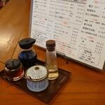 王時計 - カウンターの卓上
