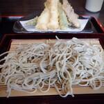 亀戸 極上江戸そば にし田 - 蕎麦は細め