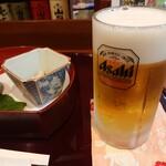 天松 - 生ビール(小)
