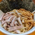 永太 - チャーシュー  メンマつけ麺    中盛り