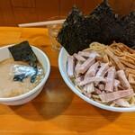 永太 - チャーシューメンマつけ麺    ¥1300 海苔  ¥50
