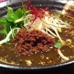 13383721 - 黒胡麻坦々麺¥740