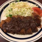 きっちんケミア - 料理写真:ミソカツランチ(税込500円)(2020.07.現在)