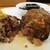 kitchen俊貴 - 料理写真:黒毛和牛ハンバーグ:ジューシーで濃厚な肉感のある 黒毛和牛100%ハンバーグステーキです。      020.07.23