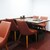 kitchen俊貴 - 内観写真:店内の様子、4人用テーブル席。      020.07.23