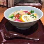 粥餐庁 - 8種野菜のベジ粥