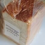 ゆかいパン - 料理写真:いつもの角食(1/2本)500円