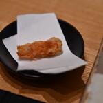 鮨割烹やま中 - 海老の頭