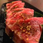 だし家焼肉ゑびす本廛 - 常陸牛カルビ