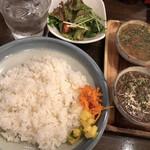 スペキエ - 2品カレー(キーマカレー&Fishカレー)