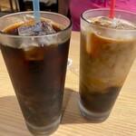Hakatakawakushikouchigyouzasakabafutamata - アイスコーヒー