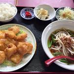 中華料理 福源 - 料理写真:海老マヨネーズ定食