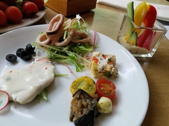 ガーデンレストラン オールデイ ダイニングの料理の写真