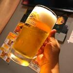 とり素揚げ - 大人生ビール