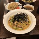 みその橋サカイ - ●焼豚冷麺(大)