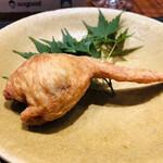 den - 茶豆と餅米の傳タッキー