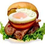 the 3rd Burger - 【14時〜販売】ダブルベーコンエッグバーガー