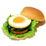 the 3rd Burger - 小松菜エッグサンド