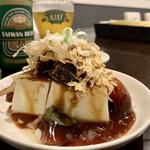 REAL台北 - 台湾ピータンと豆腐の前菜