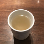 soba みのり - 蕎麦湯 そのまま飲むのが好き