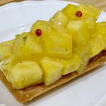 ファリナモーレ - 料理写真:パイナップルのタルト