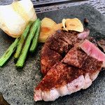 13387545 - TSUNEコースのフィレ肉