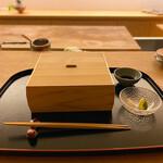 料理旅宿 井筒安 - お刺身の盛り合わせ