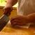 井筒安 - 料理写真:鱧の骨切り