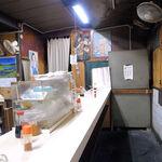 立飲スタンド 三楽 - 店内の様子
