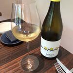133874731 - スペインの白ワイン                         ラベルが可愛い(^^)