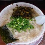 しぇからしか - チャシュ麺+辛子高菜♪