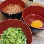 ラーメン二郎 - 料理写真:トッピング群