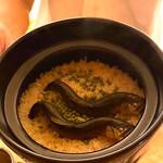 料理旅宿 井筒安 - 鮎の土鍋ご飯