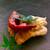 井筒安 - 料理写真:赤い焼き万願寺と海老のかき揚げと鱧