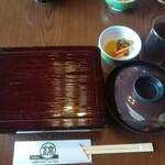 錦鮨 - 上うな重(通常3800円+税)3000円+税で食べられた♪