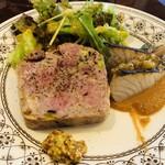 ビストロガニオン - 前菜盛り合せ