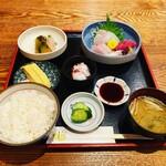 和食ふじわら - 料理写真:造り定食