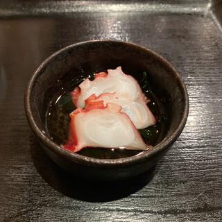 和食ふじわら - たこ酢
