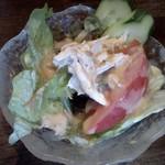 鶏料理・水炊きのお店 シリウス - 料理写真:バンバンジーサラダ
