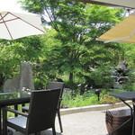 カフェ&ガーデン しらさぎ邸 - 癒やされますわー