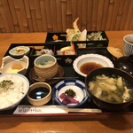 喰しん房松むら - 味わい二段弁当¥1,000